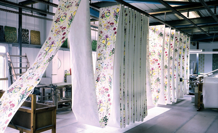 'Flora' wallpaper by Gucci and Cole & Son